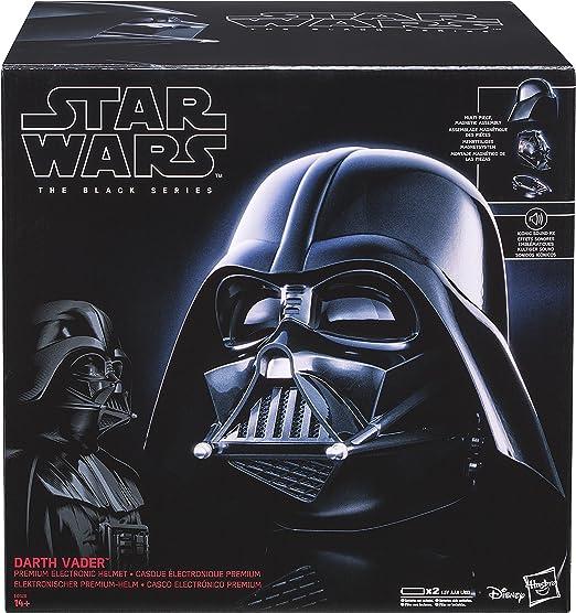Star Wars E0328EU4 Black Series - Casco para niño, color