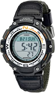 Amazon.com: Casio Mens SGW100-1V Twin Sensor Digital Black ...