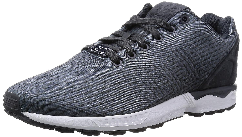 adidas ZX Flux Herren Sneakers  43 1/3 EU|Grau (Ftwr White/Carbon S14/Cream White)