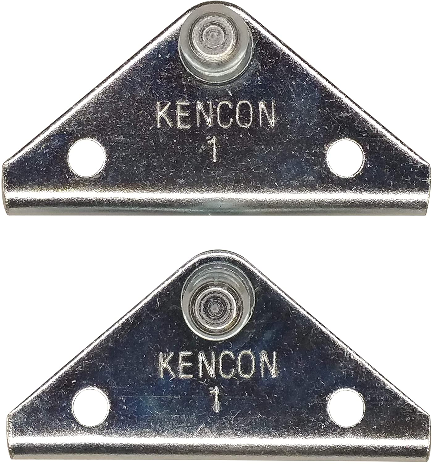 Small 2 Pack Angled 10MM Ball Stud Bracket for Gas Spring//Prop//Strut