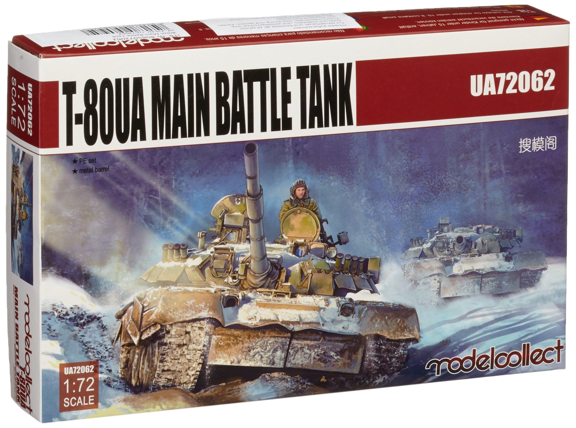 Modelcollect UA72062-Model Kit 80UA Main Battle Tank