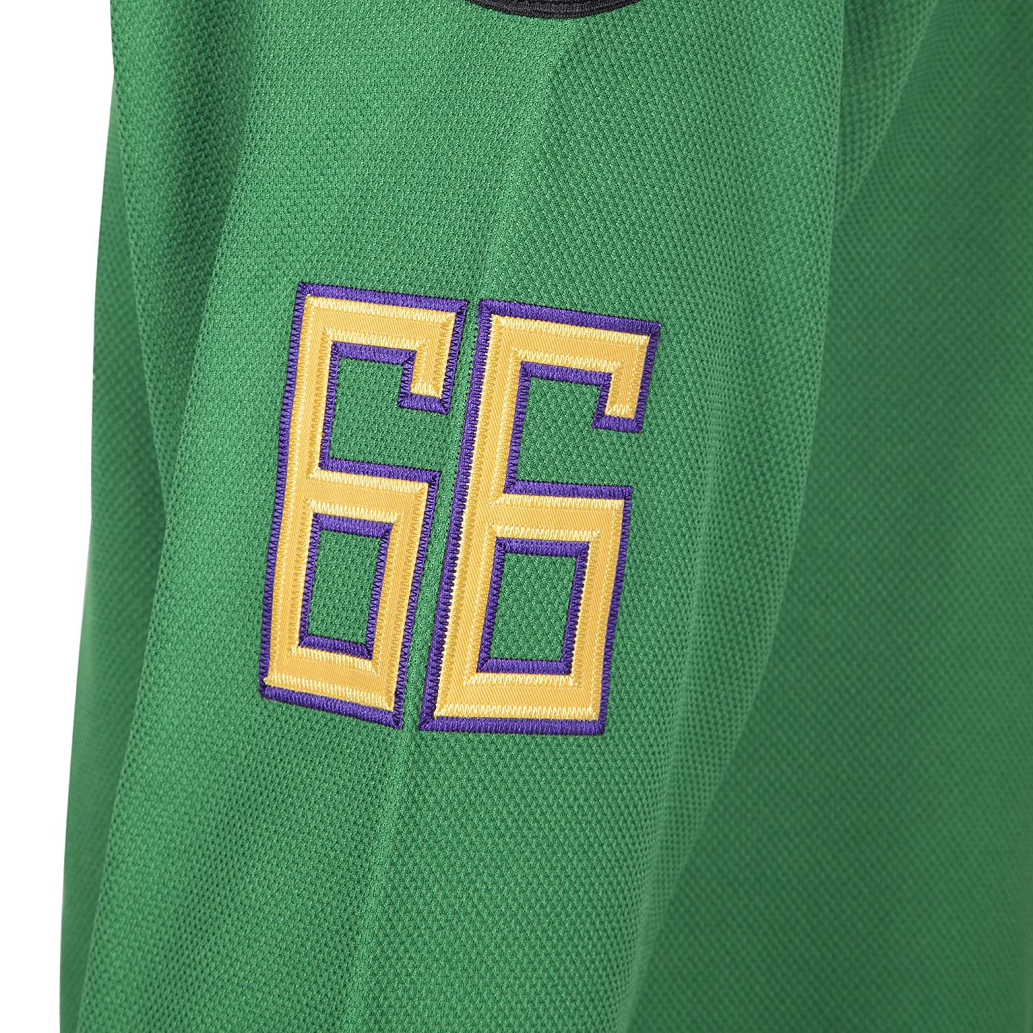 90S Hip Hop Clothing for Party MOLPE Portman 21 Ducks Jersey S-XXXL Green Stitched Letters and Numbers