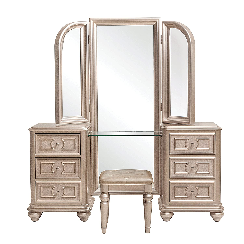 Pulaski Dynasty Vanity Tri View Mirror