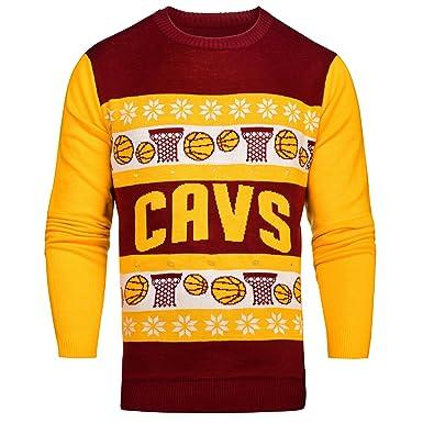 2bff77064a5 Amazon.com : NBA Light Up Ugly Sweater : Clothing