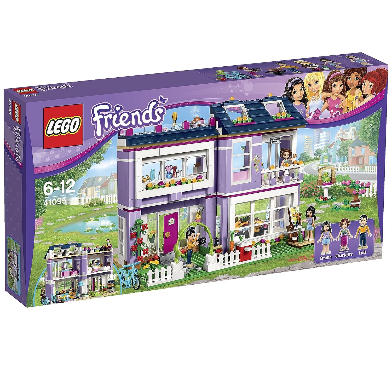 Lego friends heartlake grand hotel 41101 lego friends uk - Lego 41095 Friends Emma S House Multi Coloured Amazon Co Uk Toys Games