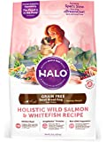 Halo Spot's Stew Healthy Weight Grain Free Whitefish and Salmon Adult Dog Food