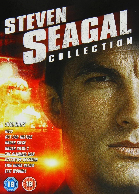Amazon.com: The Steven Seagal Legacy: Executive Decision ...