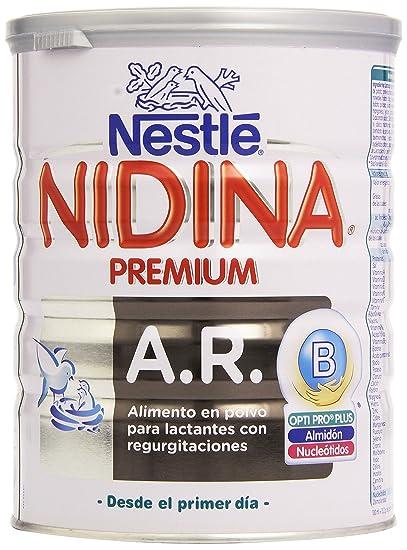 Nestlé Nidina Alimento en Polvo para Lactantes con Regurgitaciones - 800 gr