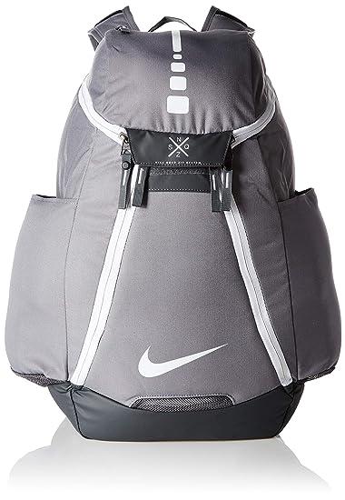 Nike Hoops Elite Max Air Team 2.0 Basketball Backpack CharcoalDark GreyWhite, One Size