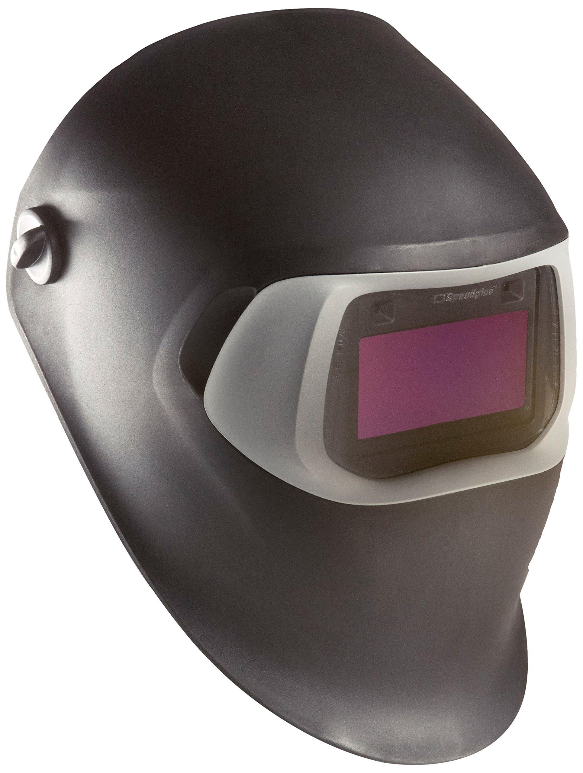 3M Speedglas Black Welding Helmet 100, Welding Safety 07-0012-11BL/37231(AAD) with Speedglas Auto-Darkening Filter 100S-11, Shade 11 1 EA/Case