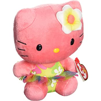 Ty Beanie Babies Hello Kitty Rose Plush
