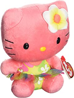 Ty Beanie Babies Hello Kitty Rose Plush