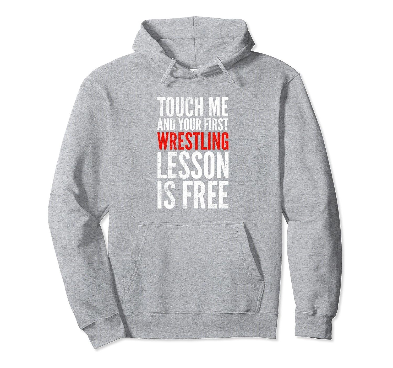 Funny Wrestling Hoodie | Wrestler Sparring Apparel-ln