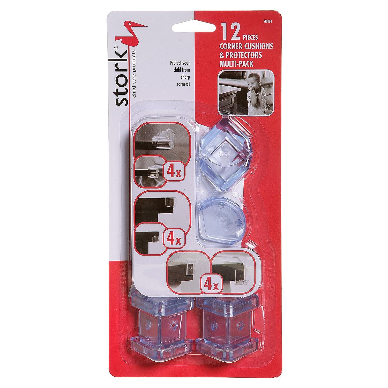 Cigogne enfant produits d'entretien d'angle Coussins (lot de 12) Tee-Zed ST9084