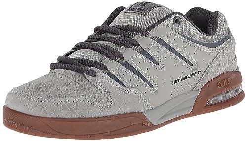 DVS Men's Tycho Skateboarding Shoe, Grey Suede, ...