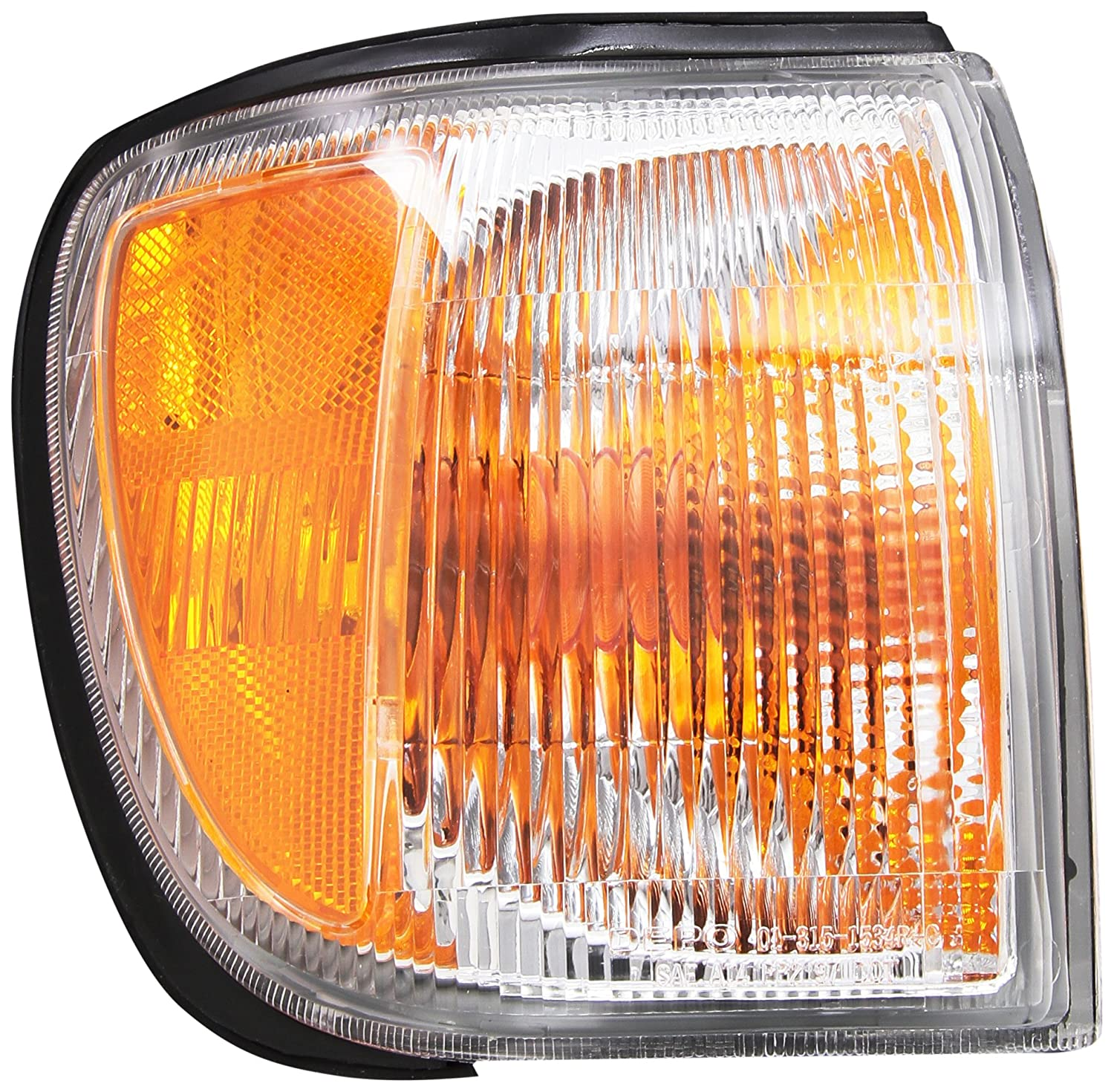 Depo 315-1534R-US Nissan Pathfinder Passenger Side Replacement Parking//Signal Light Unit without Bulb