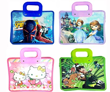 Jiada Shopping Tote Bag For Kids Birthday Return Gift Party Favor Pack Of 12 Assorted Colour