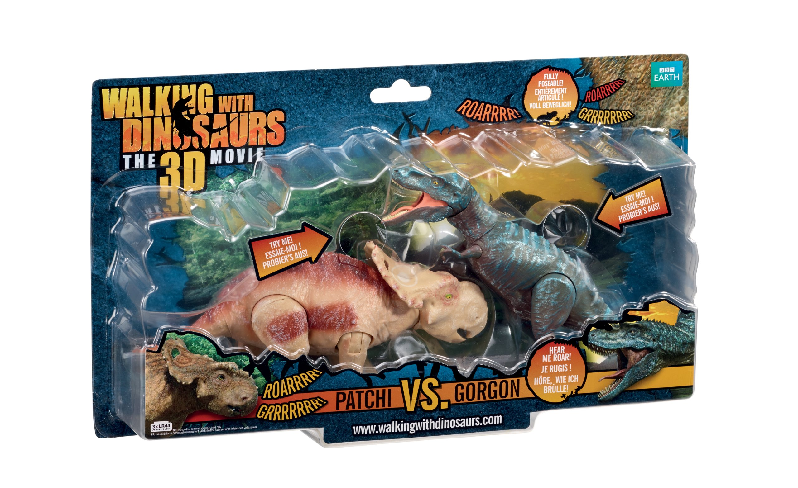 Walking With Dinosaurs 3D Twin Pack Dinos