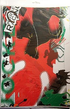 Skin universal para ordenador portátil ptxctay007 caballo Racing Horse Racing/Pegatinas/Protector de