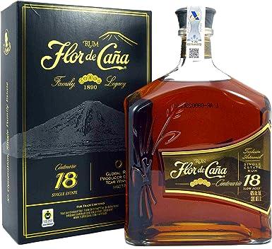 Flor de Cana Centenario Legacy Edition I - Ron en caja de regalo, 1000 ml