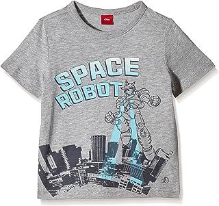s.Oliver Jungen T-Shirt Gr. 116 (Herstellergröße: 116/122) Grau (Grey Melange 9400) s.Oliver Bernd Freier GmbH und Co KG 63.602.32.2596