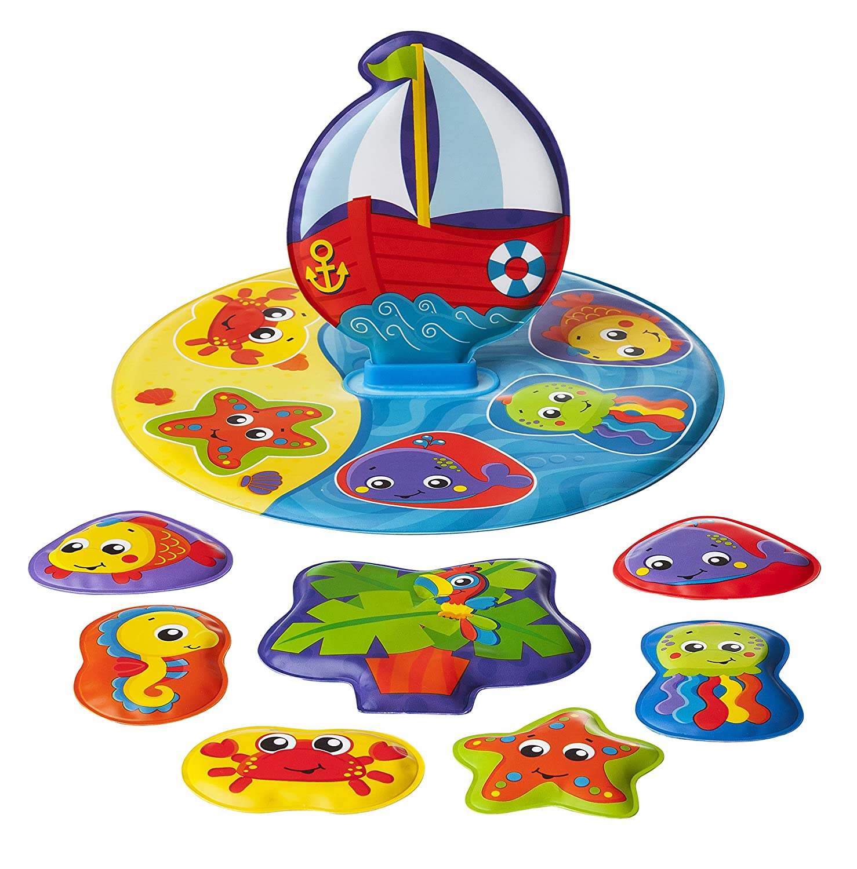 Playgro 40172Bade Puzzle, Multicolore Rotho Babydesign GmbH (VSS) 0186379