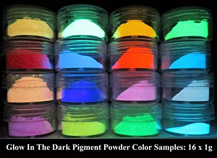 PRESTIGE GLOW IN THE DARK PIGMENT POWDER LONGEST LASTING