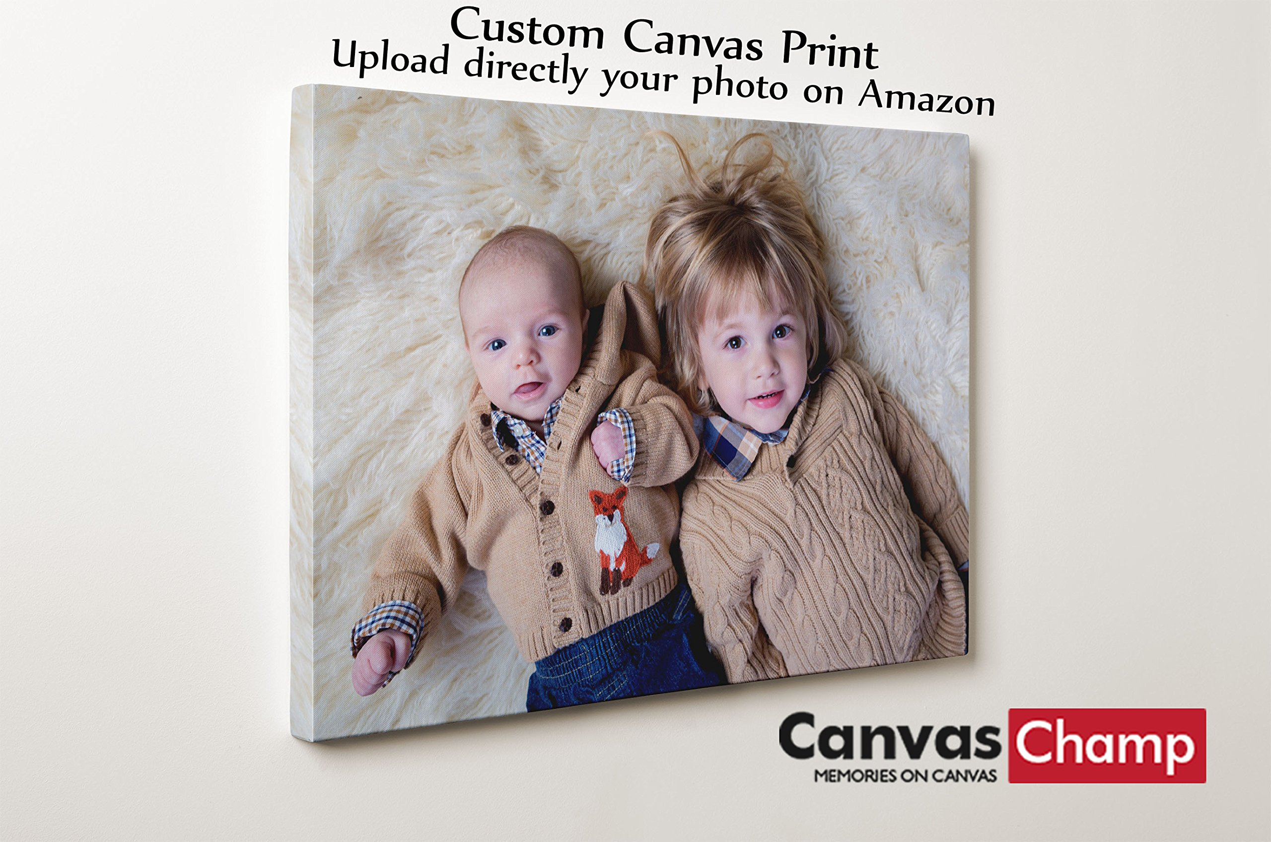 Canvas Champ Your Image Turn Into Canvas Art Print (8'' x 8'')