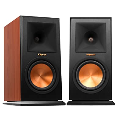 Klipsch RP-160M  Bookshelf Speaker, Cherry (Pair)