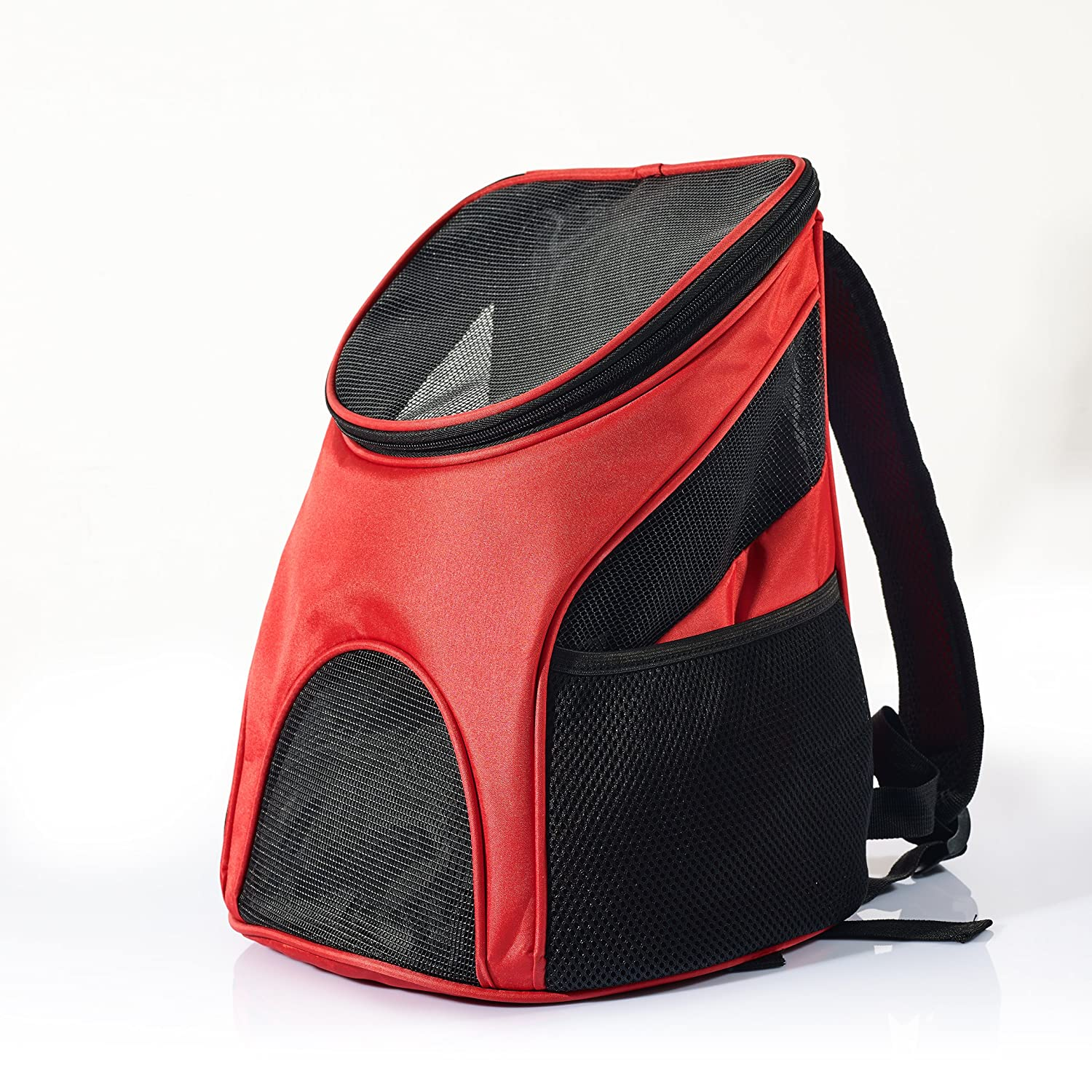 Amazon.com   Pet Carrier Backpack for Small Dogs and Cats by Pawfect Pets-  Airline-Approved, Designed for Travel, Hiking, Walking   Outdoor Use (Red)    Pet ... 3a3aac3852