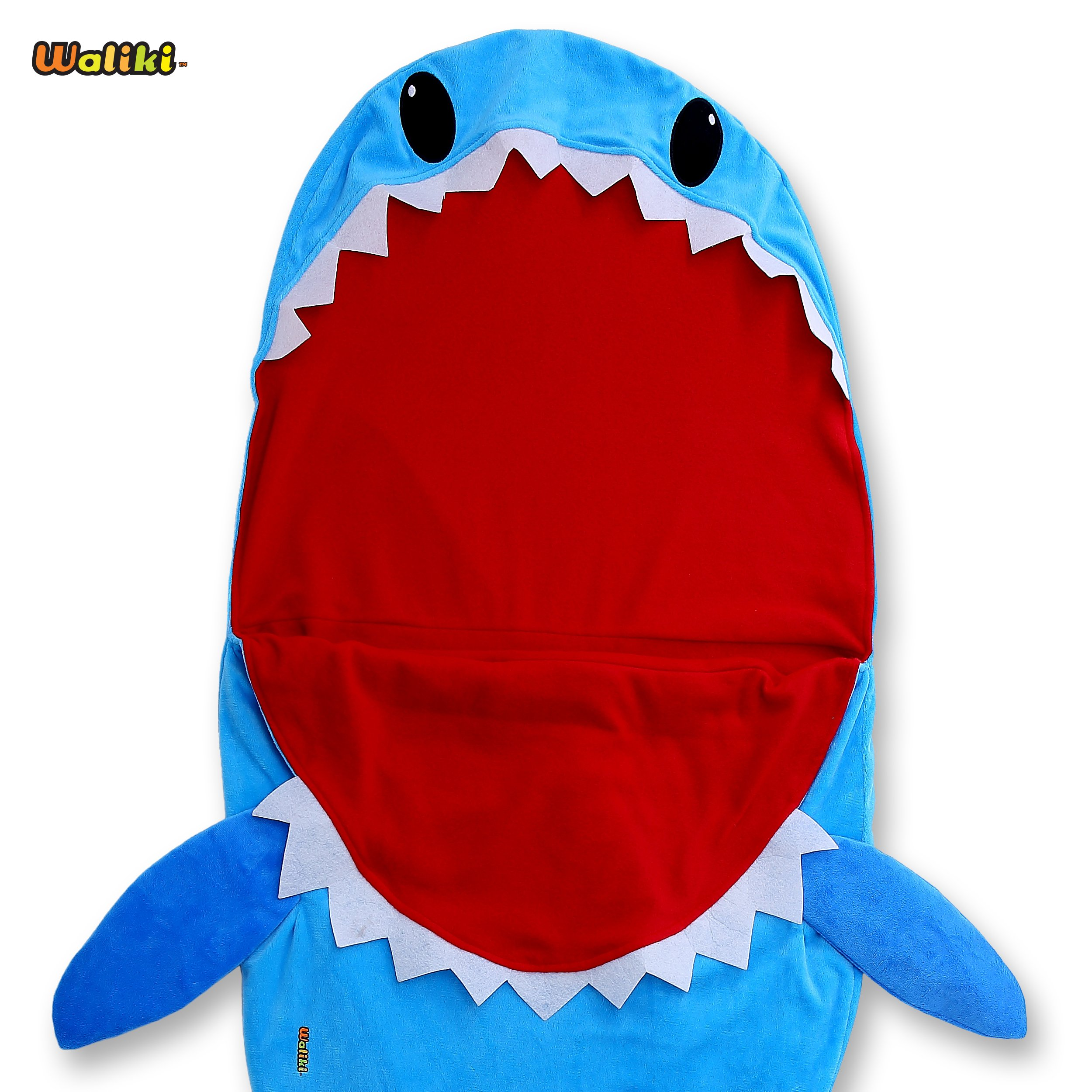 WALIKI TOYS Shark Sleeping Bag for Boys and Girls. (Slumber Bag Nap Mat)