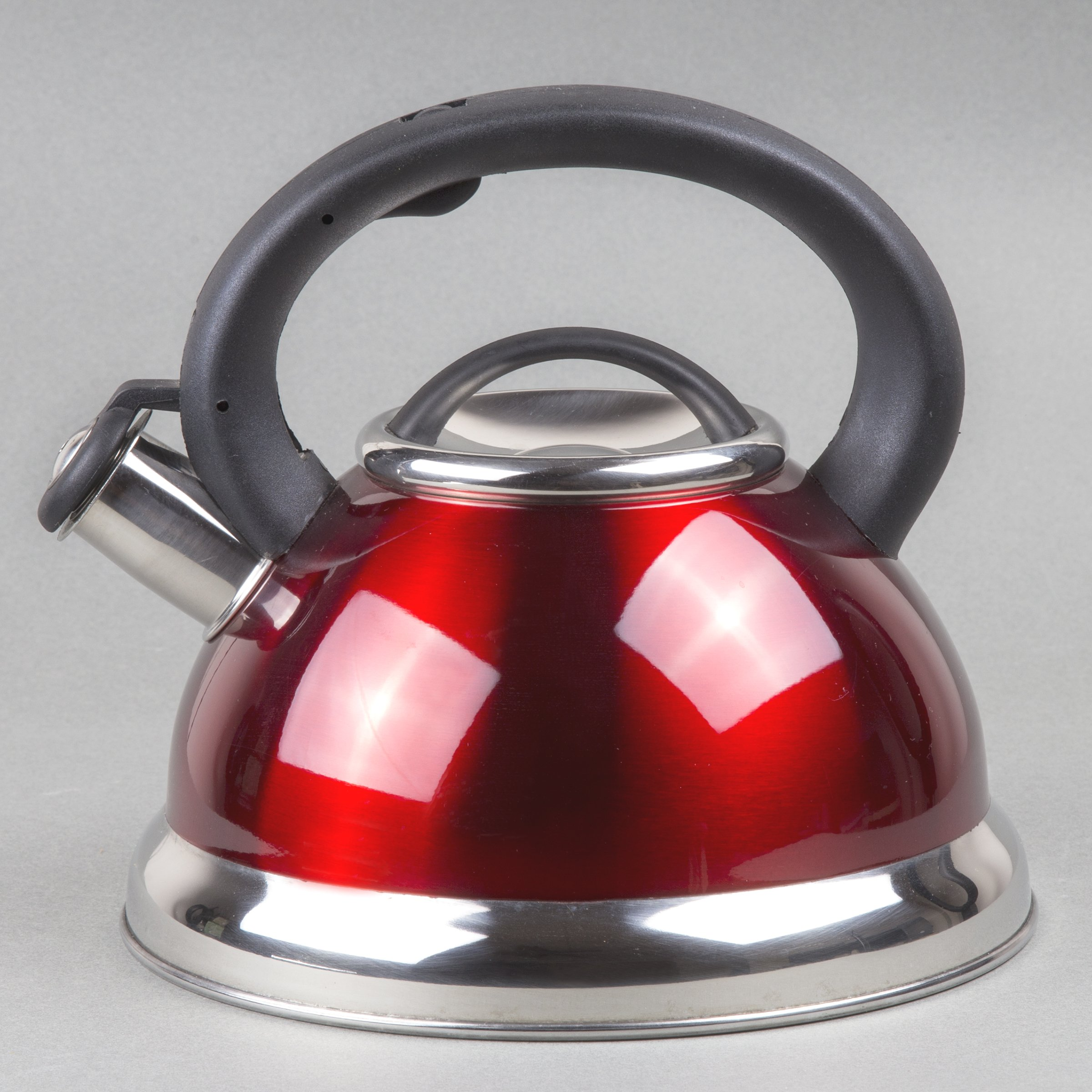 Creative Home Alexa 3.0 Whistling Tea Kettle, Cranberry by Creative Home (Image #5)