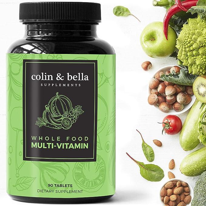 Colin & Bella - Whole Food Multivitamin for Women and Men