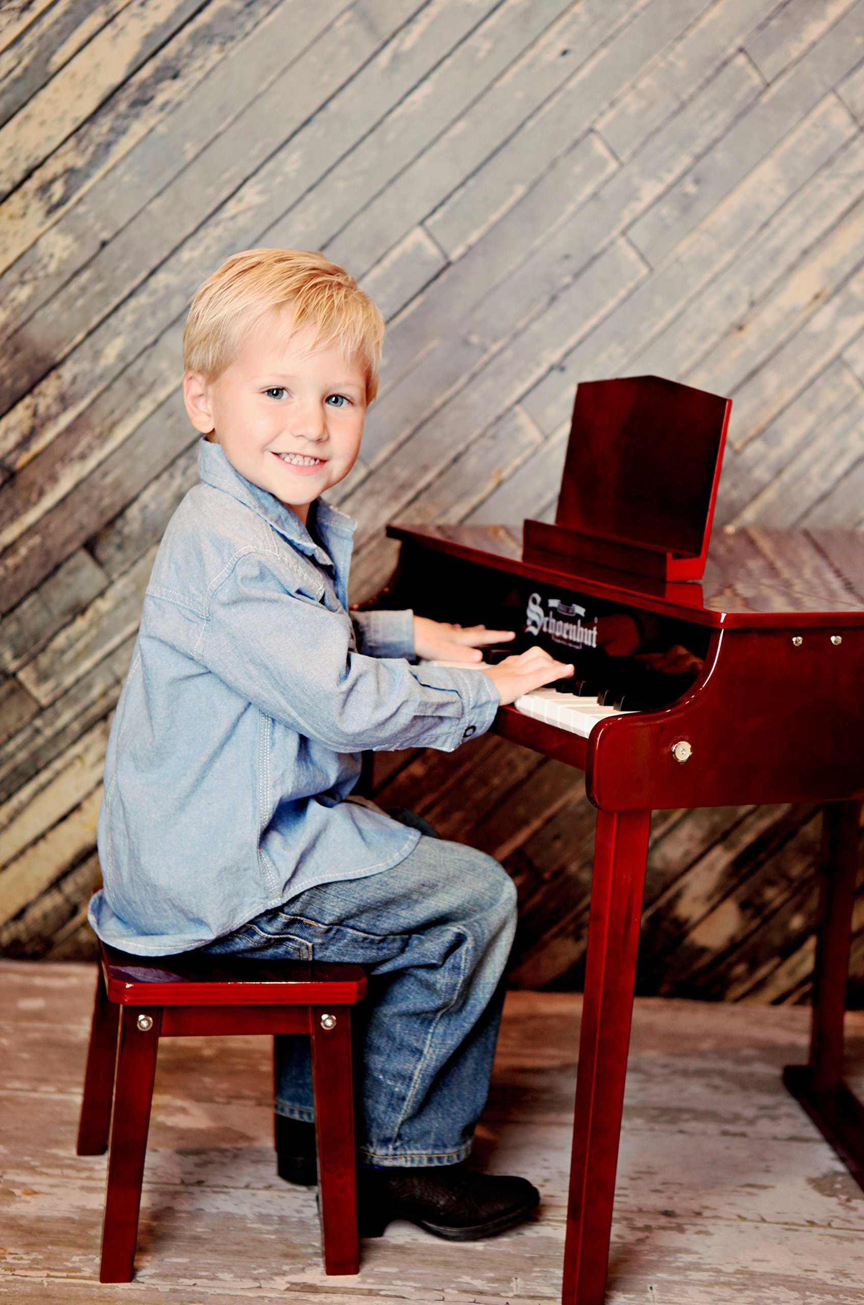 Schoenhut 37 Key Concert Baby Grand with Bench by Schoenhut (Image #2)