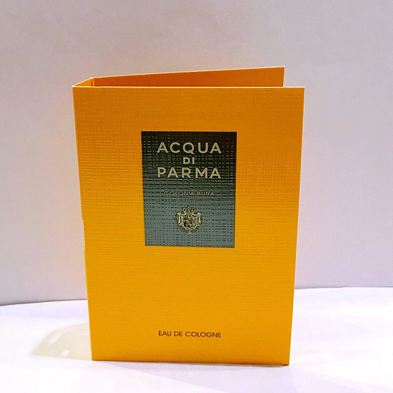 Acqua Di Parma Colonia Pura Eau De Cologne for Men .05 oz. Sample Spray
