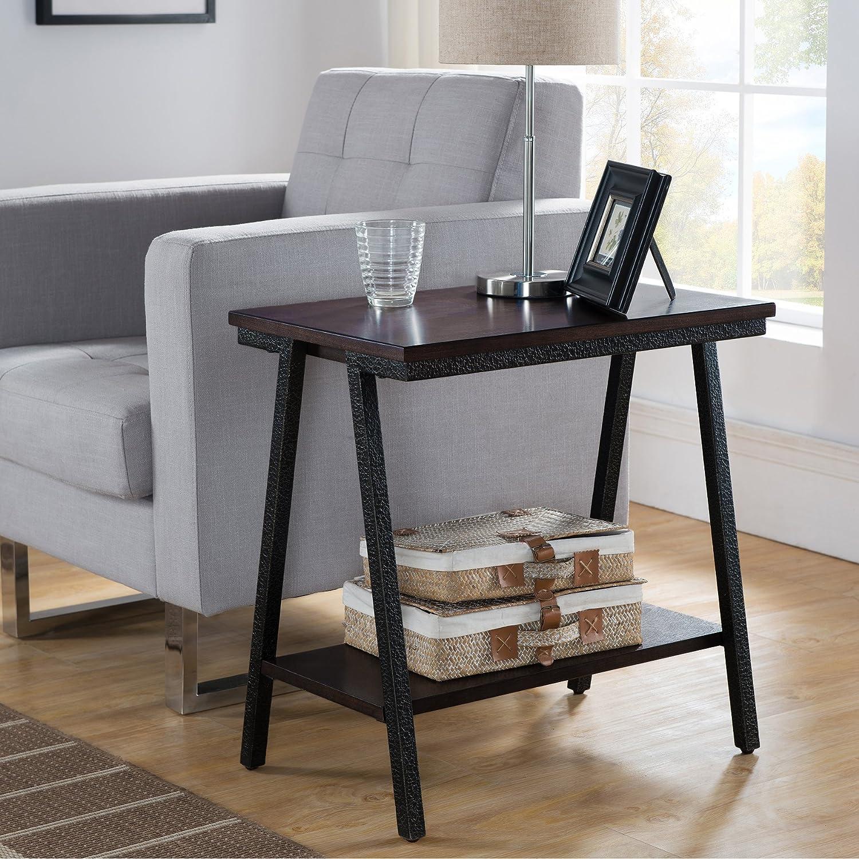 Leick Empiria Chairside End Table, Brown