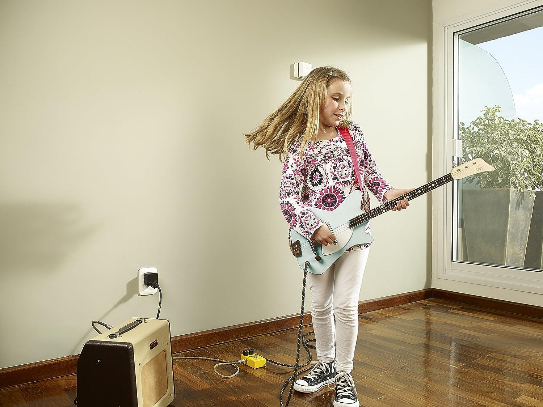 loog lge02g sólido cuerpo 3-string - Guitarra eléctrica, color verde: Amazon.es: Instrumentos musicales
