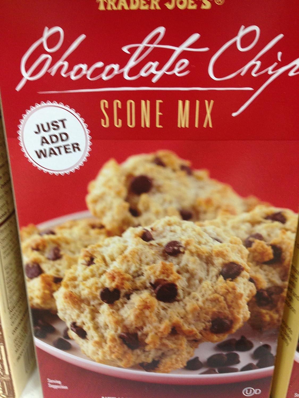 Amazon.com : Trader Joe's Chocolate Chip Scone Mix (Pack of 2 ...