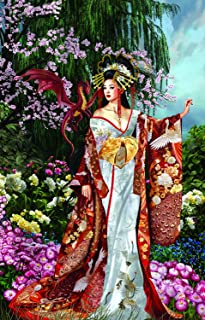 product image for Queen of Silk 1000 Piece Jigsaw Puzzle by SunsOut
