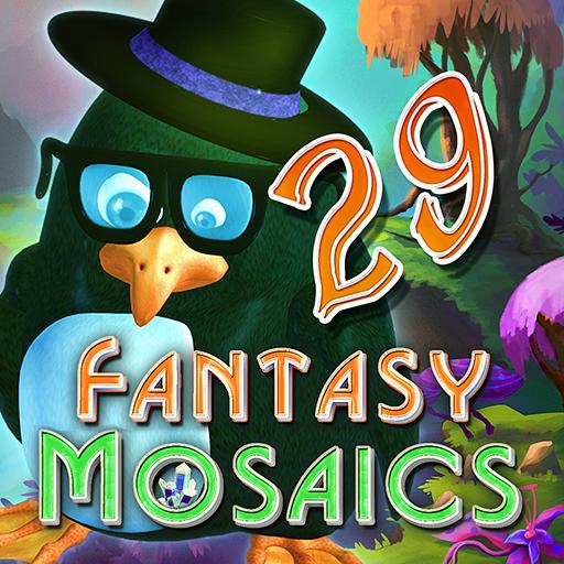 Fantasy Mosaics 29  Alien Planet