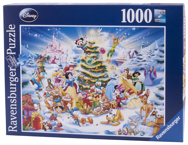 Ravensburger Disney Christmas Eve Jigsaw Puzzle (1000 Pieces ...