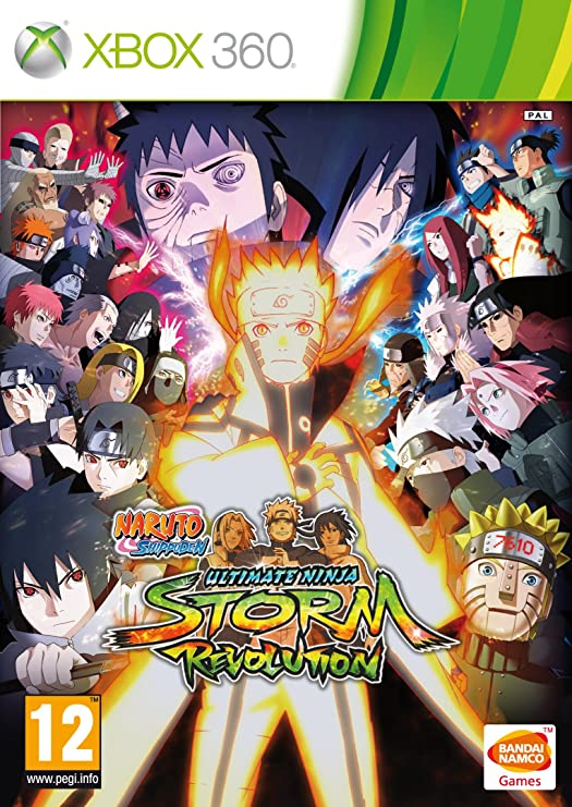 Naruto Shippuden Ultimate Ninja Storm Revolution - Day-One ...