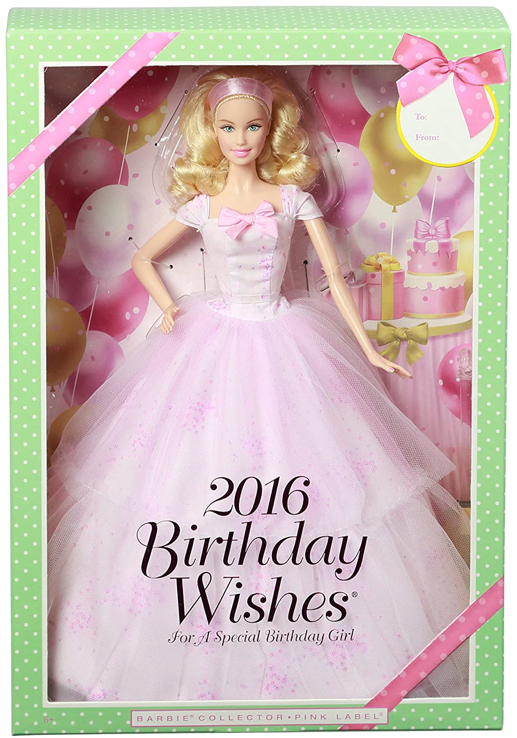 Amazon Barbie Birthday Wishes 2016 Doll Blonde Toys Games