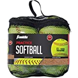 Franklin Sports Practice Softballs - Official Size and Weight Softball - Perfect For Softball Practice - Available in 1…
