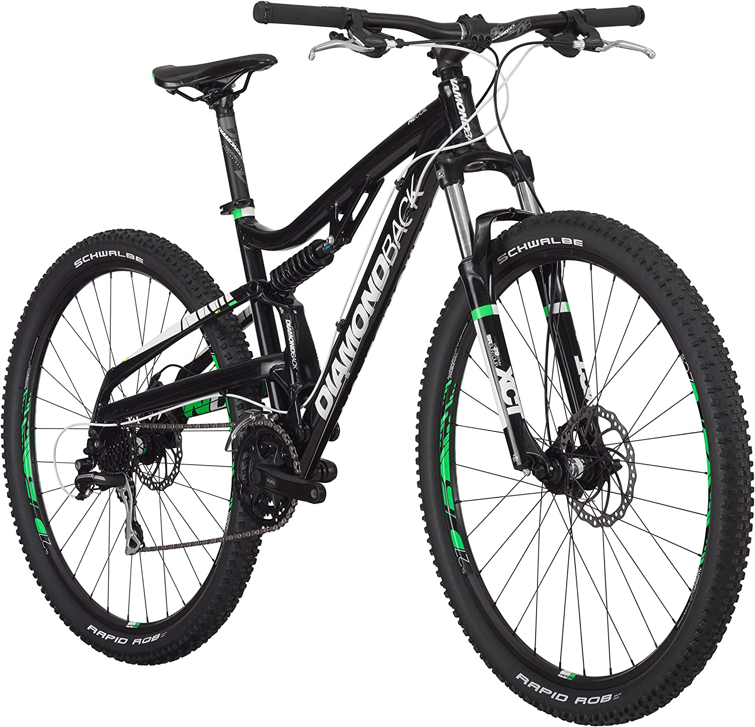 Diamondback Bicycles Recoil Full Suspension Complete Mountain Bike