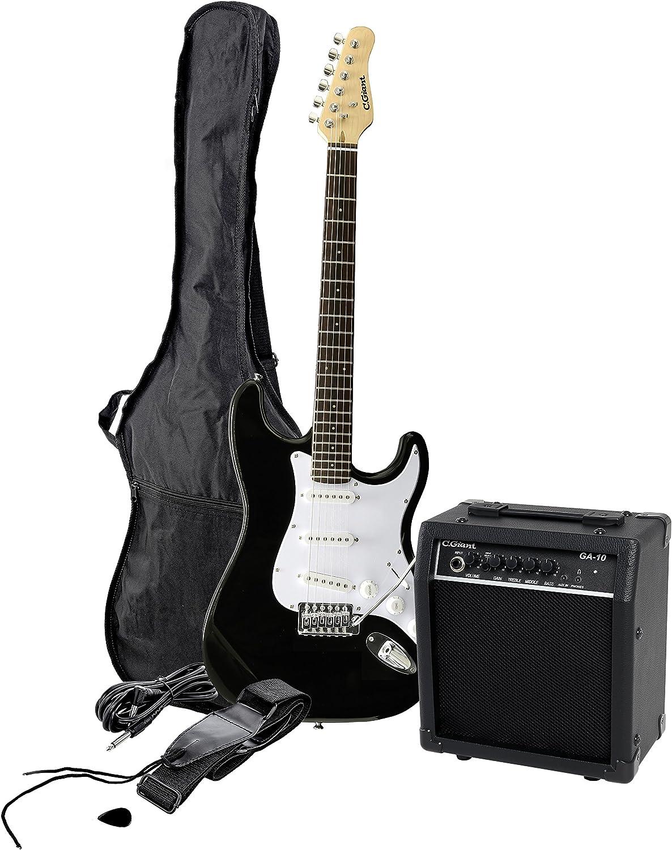 Clifton/C.Giant E-Gitarre - Pack de guitarra eléctrica con amplificador y accesorios: Amazon.es: Instrumentos musicales