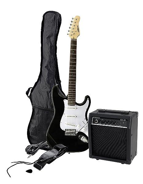 Clifton/C.Giant E-Gitarre - Pack de guitarra eléctrica con amplificador y