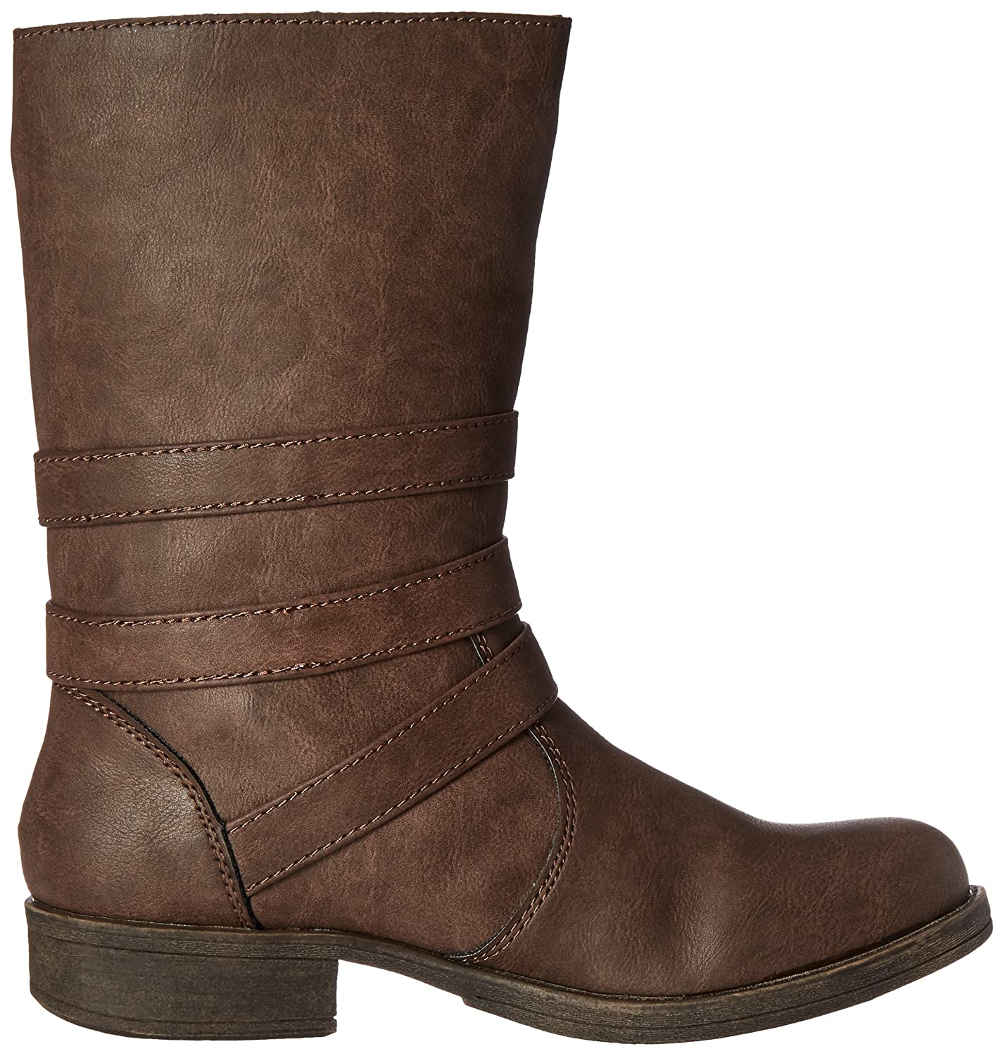 Sugar Women's Ruler B(M) Ankle Bootie B01EK6O5E6 6 B(M) Ruler US|Brown 9297e6