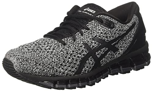 Asics Gel-Quantum 360 Knit 2, Scarpe Running Donna, Nero (Black/White/Black 9001), 39.5 EU