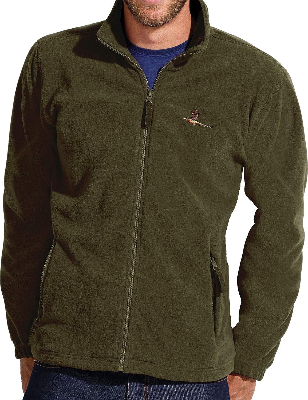 Fleece Jacket Outdoor Sport Montagne Unisex Loisirs Verte Veste Polaire: Cerf Cadeaux pour Un Chassseur V/êtements de Travail Veston pour la Chasse